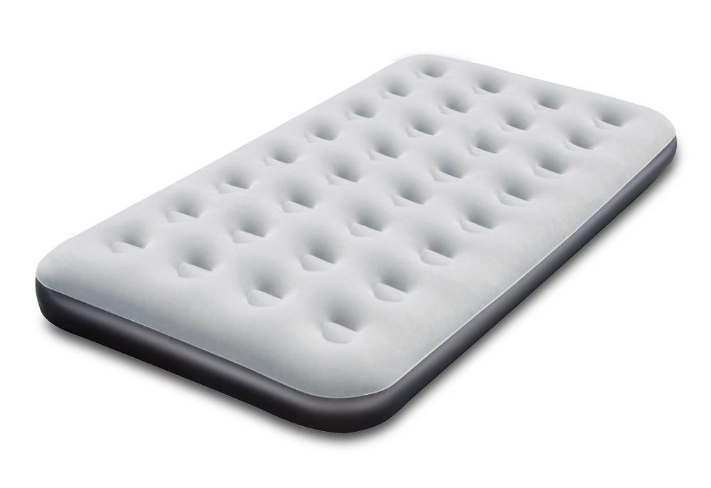 Bestway Nafukovací postel Air Bed Klasik 188 x 99 x 22 cm, ABK1LS, šedá