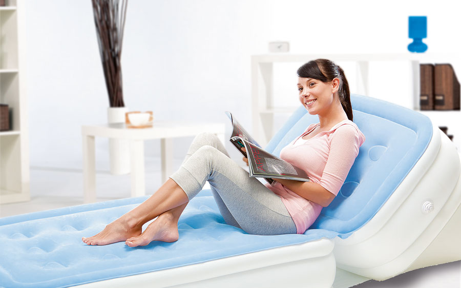 Bestway Air Bed polohovací jednolůžko 198 x 84 x 30 cm 67386