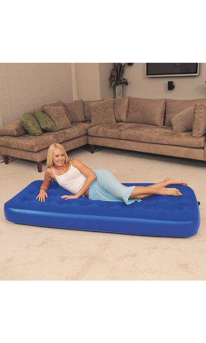 Bestway Air Bed Klasik Twin jednolůžko modrá 188 x 99 x 22 cm 67001