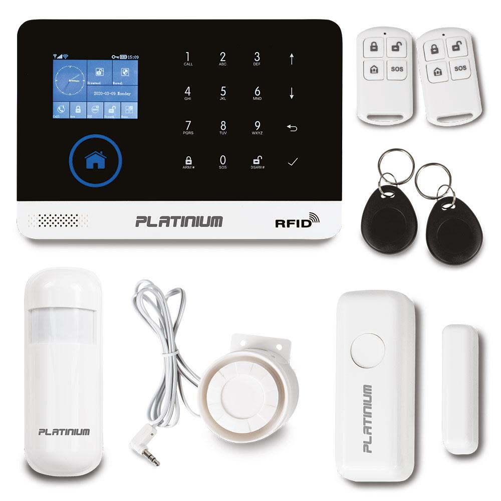 Platinium Bezdrátový domovní GSM alarm s Wi-Fi PG-103