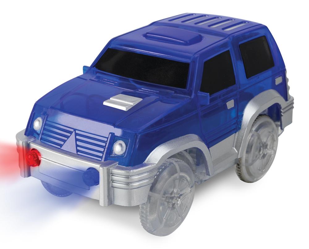 Kids World Autíčko k svítící autodráze MAXI RACE