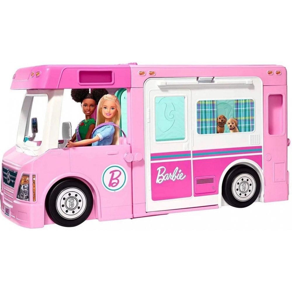 Mattel Barbie karavan snů 3v1 Super Camper