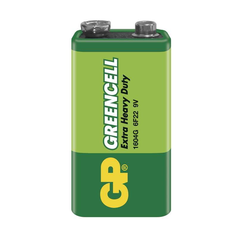 GP Batteries Zinkochloridová baterie GP 9V, 1ks, blistr