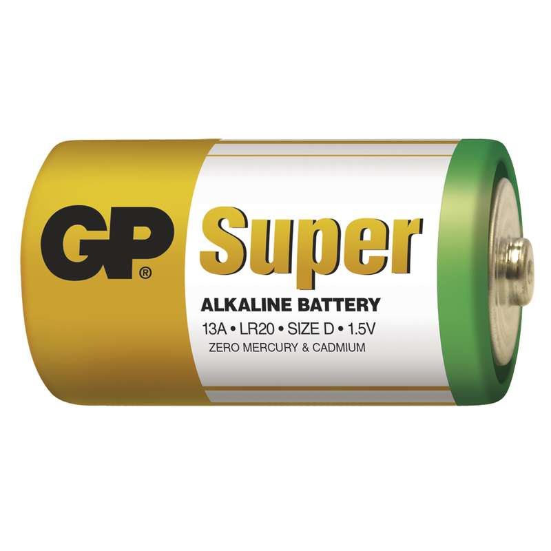 GP Batteries Super D 2ks 1013412000