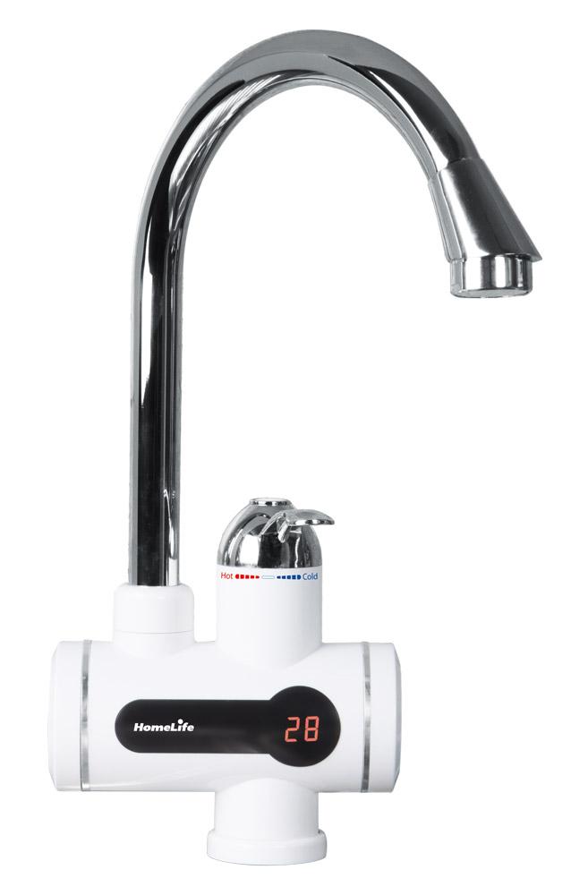 HomeLife Baterie s elektrickým ohřevem vody DIGITERM SDR-10D-3