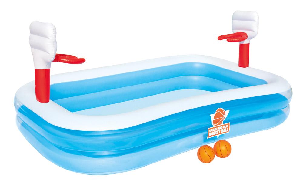 Bestway Dětský bazén basketball 254 x 168 x 102 cm