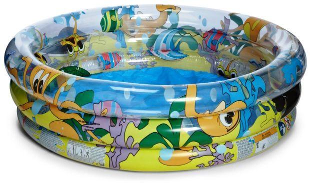 Bestway Dětský bazén 51009 oceán s chobotnicí 122 x 25 cm