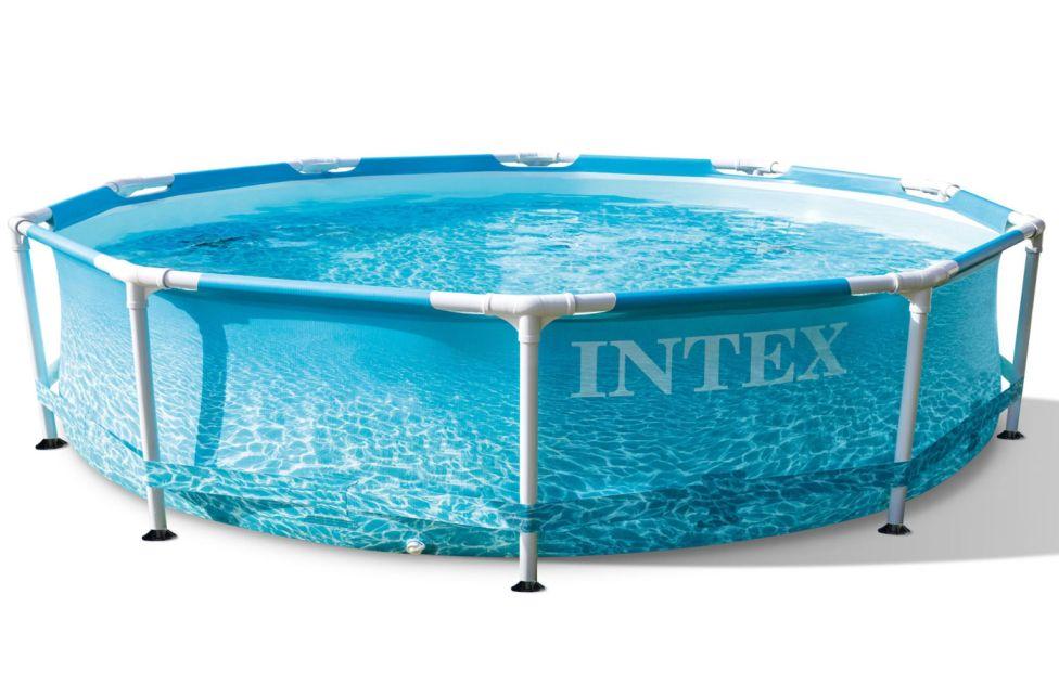 Intex Bazén Beachside Metal Frame 305 x 76 cm 28206NP