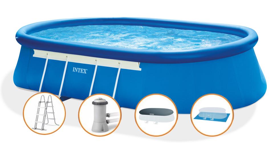 Intex Bazén OVAL FRAME SET 549 x 305 x 107 cm - 26192NP