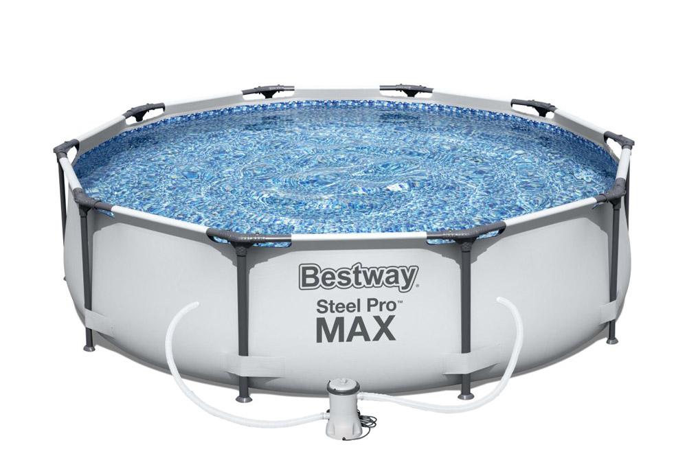 Bestway Bazén Steel Pro Max 3,05 x 0,76 m s kartušovou filtrací - 56408