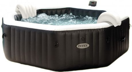 Intex Vířivý bazén PureSpa Jet & Bubble Deluxe Octagon XL - 28462
