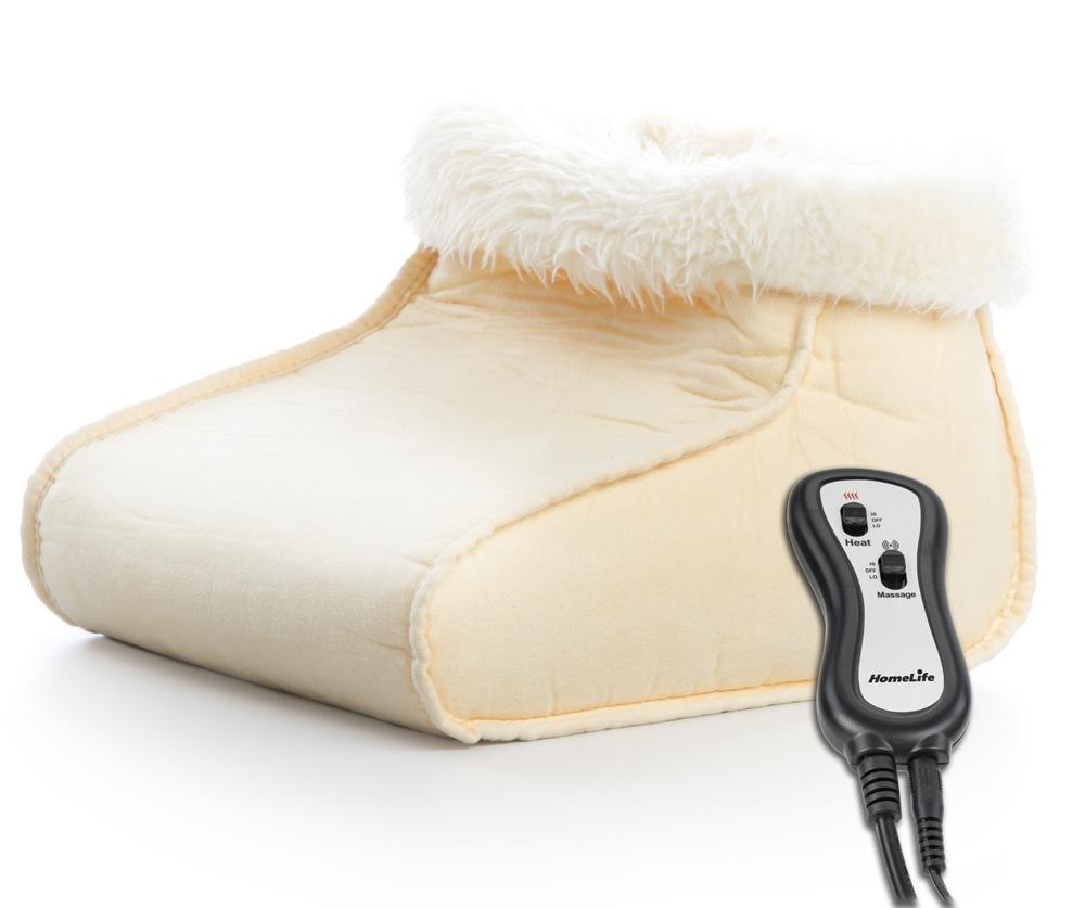 HomeLife Elektrická vyhřívaná bota s relaxační masáží SM7446