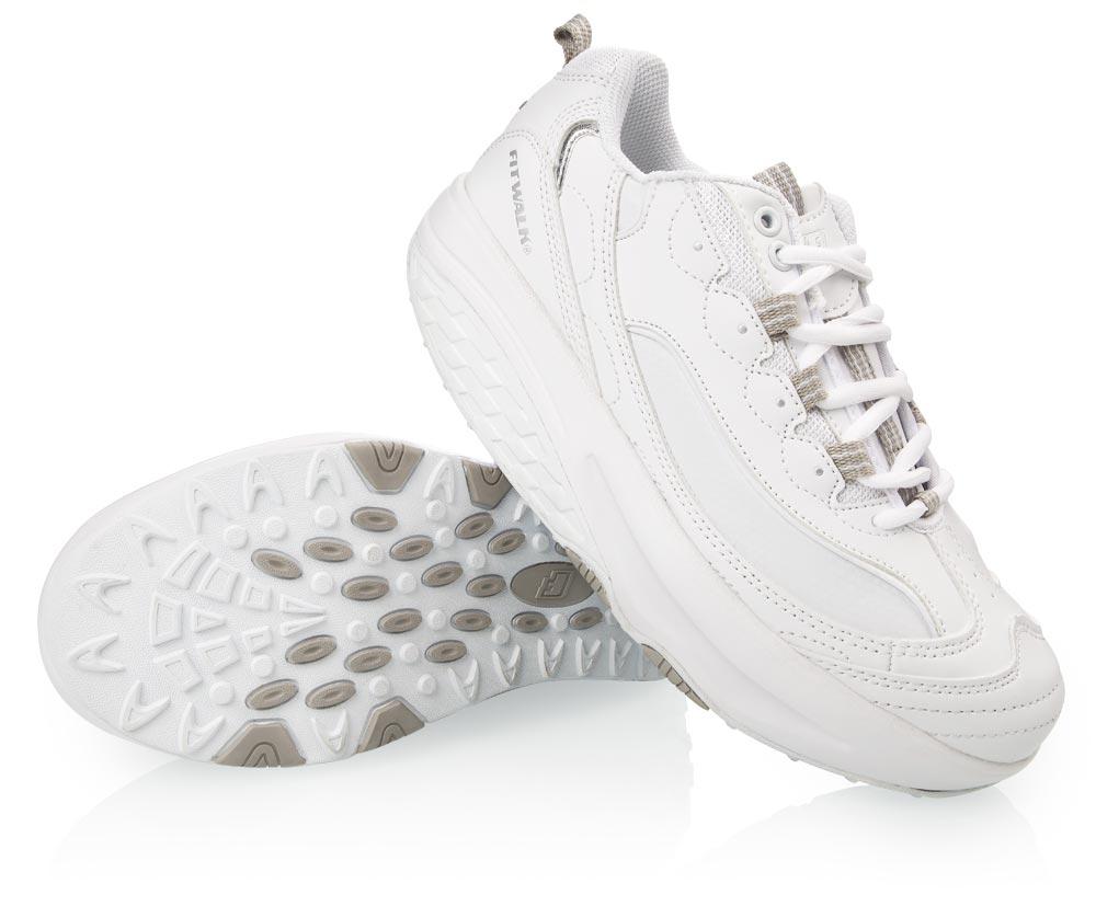 Fit Walk Zeštíhlující boty STREET LINE bílé