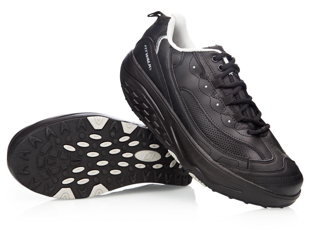 Zeštíhlující boty STREET LINE černé cde980bc42