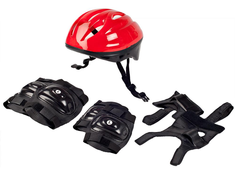 Fitness King Sada chráničů a helma