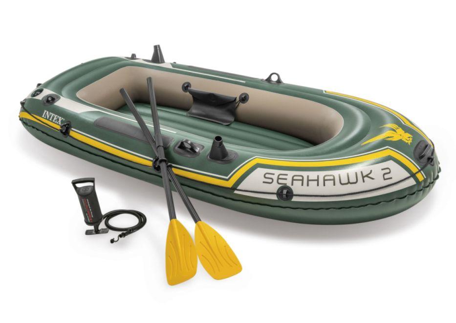 Intex 68347 Nafukovací člun Seahawk 2 Set - 236 x 114 x 41 cm