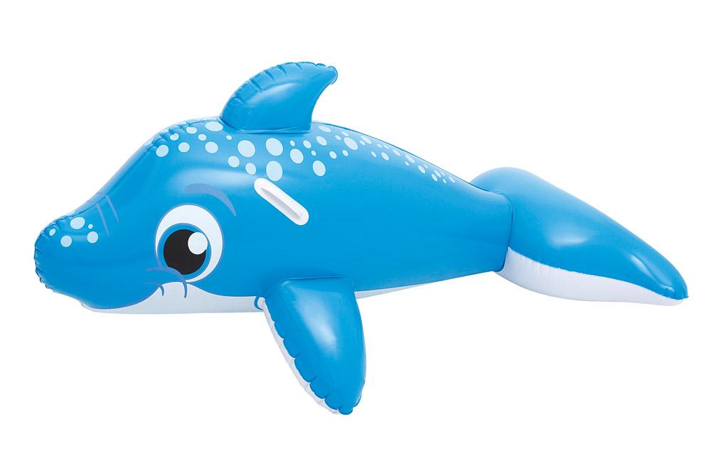 Bestway 41087 Nafukovací delfín s úchyty 157 x 89 cm