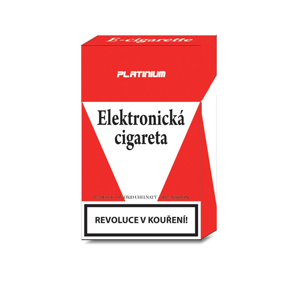 Platinium elektronická cigareta, 2 ks
