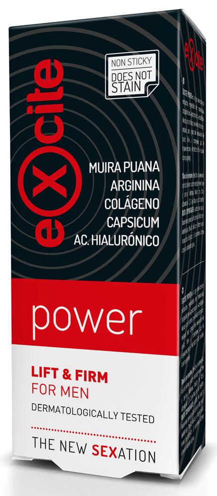 Diet Esthetic Gel pro zvětšení objemu Excite Man Power 15 ml