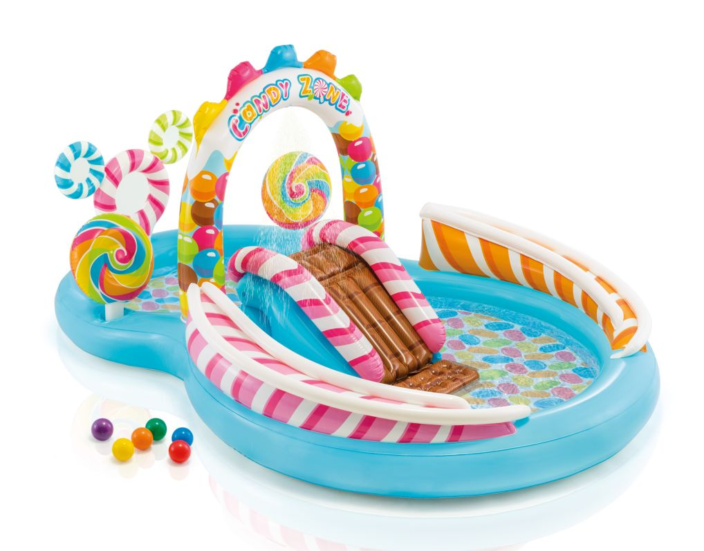 Intex 57149 Hrací centrum Candy Zone 295 x 191 x 130 cm