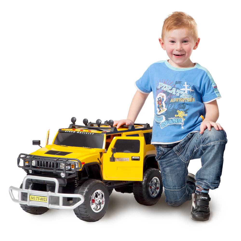 Kids World Superauto na dálkové ovládání HUMMER