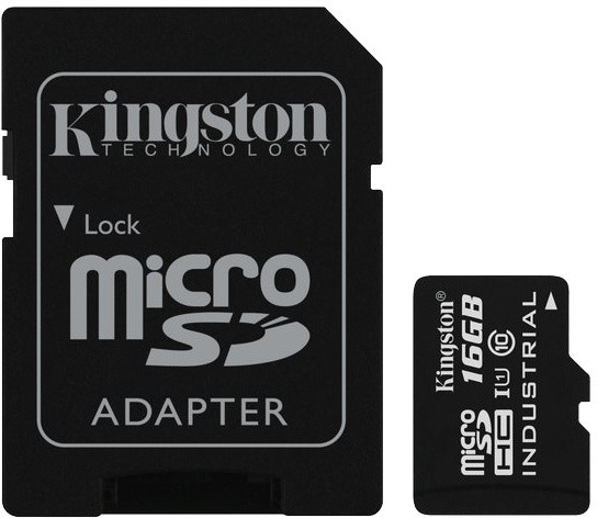 Kingston MicroSDHC 16GB UHS-I U1 + adaptér SDC10G2/16GB