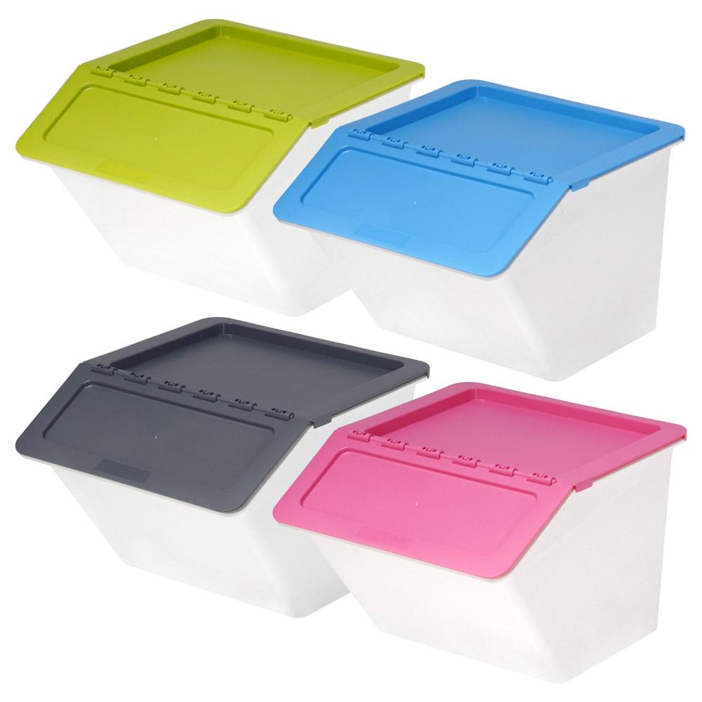 HomeLife Úložné boxy 4 ks