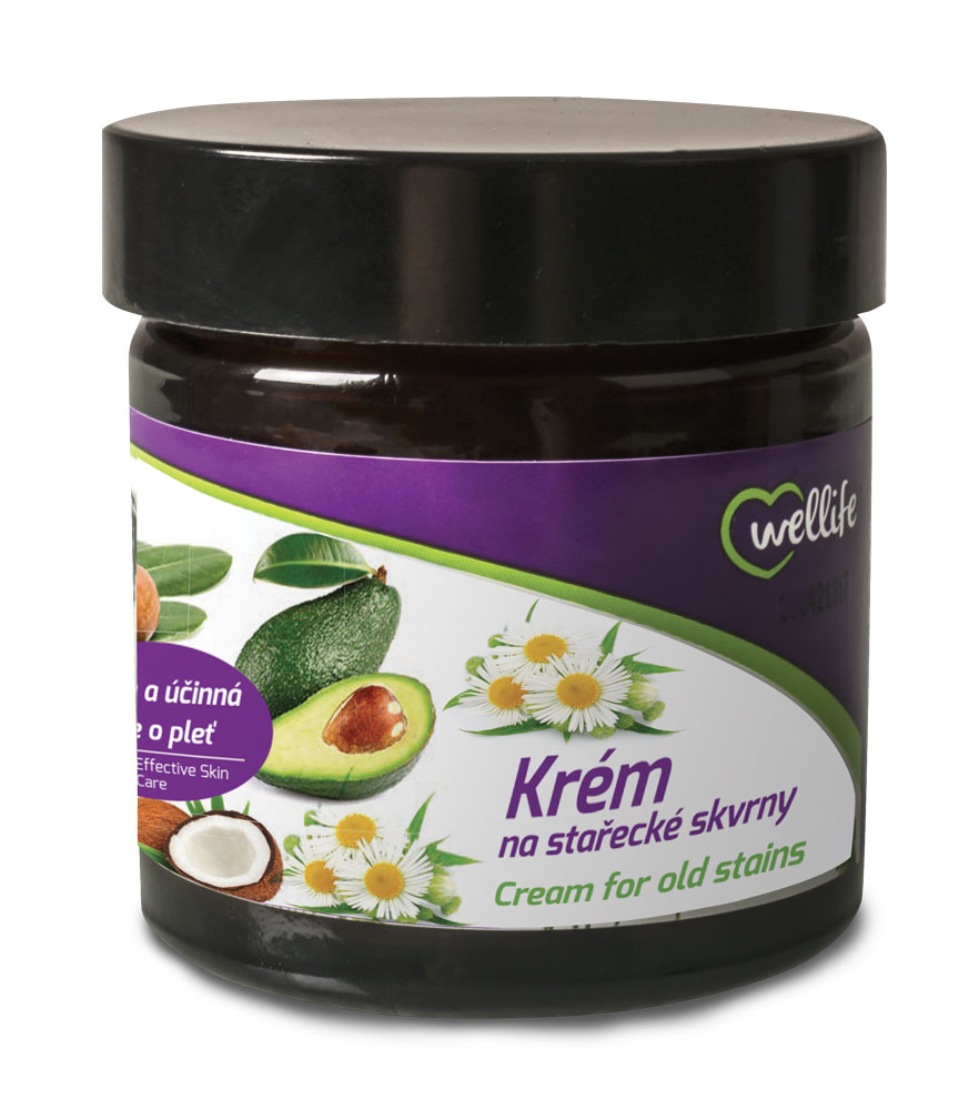 Wellife Krém na stařecké skvrny 50 ml