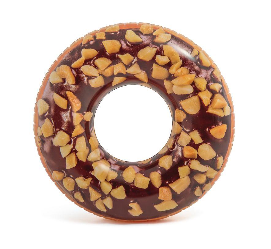 Intex 56262 Nafukovací kruh Nutty Chocolate Donut