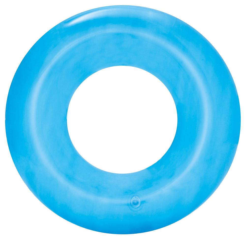 Bestway 36022 Nafukovací kruh Transparent 51 cm zelená