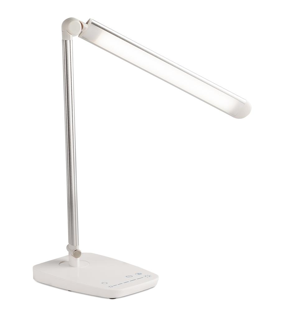 Platinium Stolní LED lampička 10 W, 230V, stmívatelná, MT-306, bílá