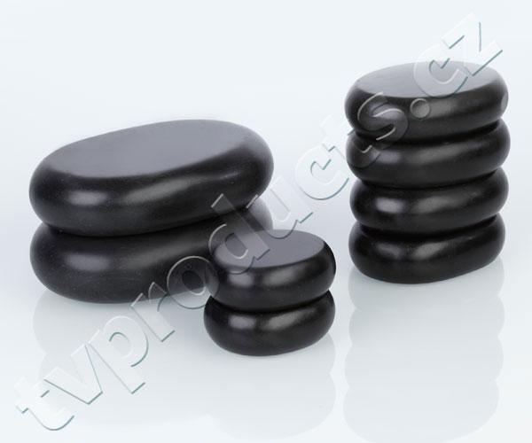 Wellife Lávové masážní kameny - kufřík