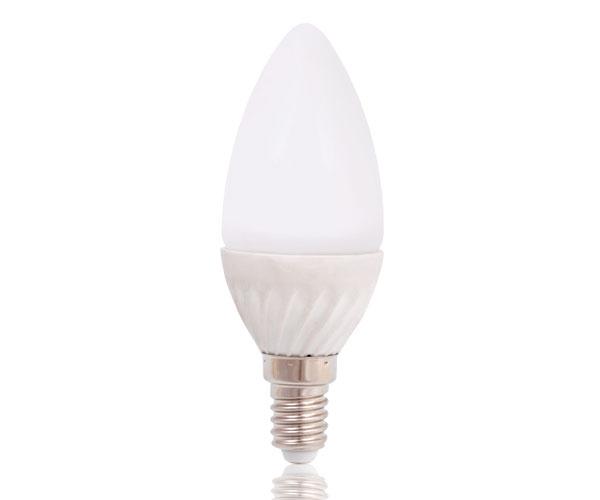 Platinium LED žárovka E14, 4W, teplá bílá
