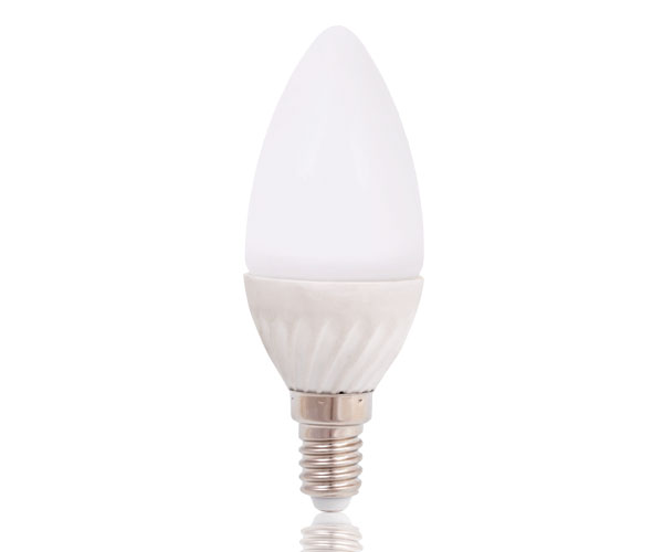 Platinium LED žárovka E14, 4W, neutrální bílá