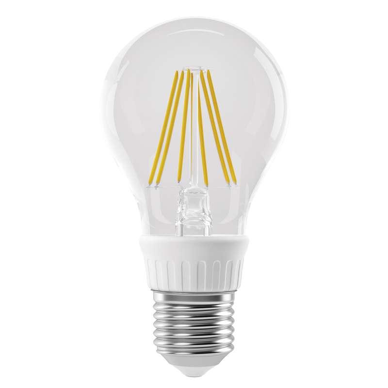 Emos LED žárovka filament A60 6W E27 teplá bílá