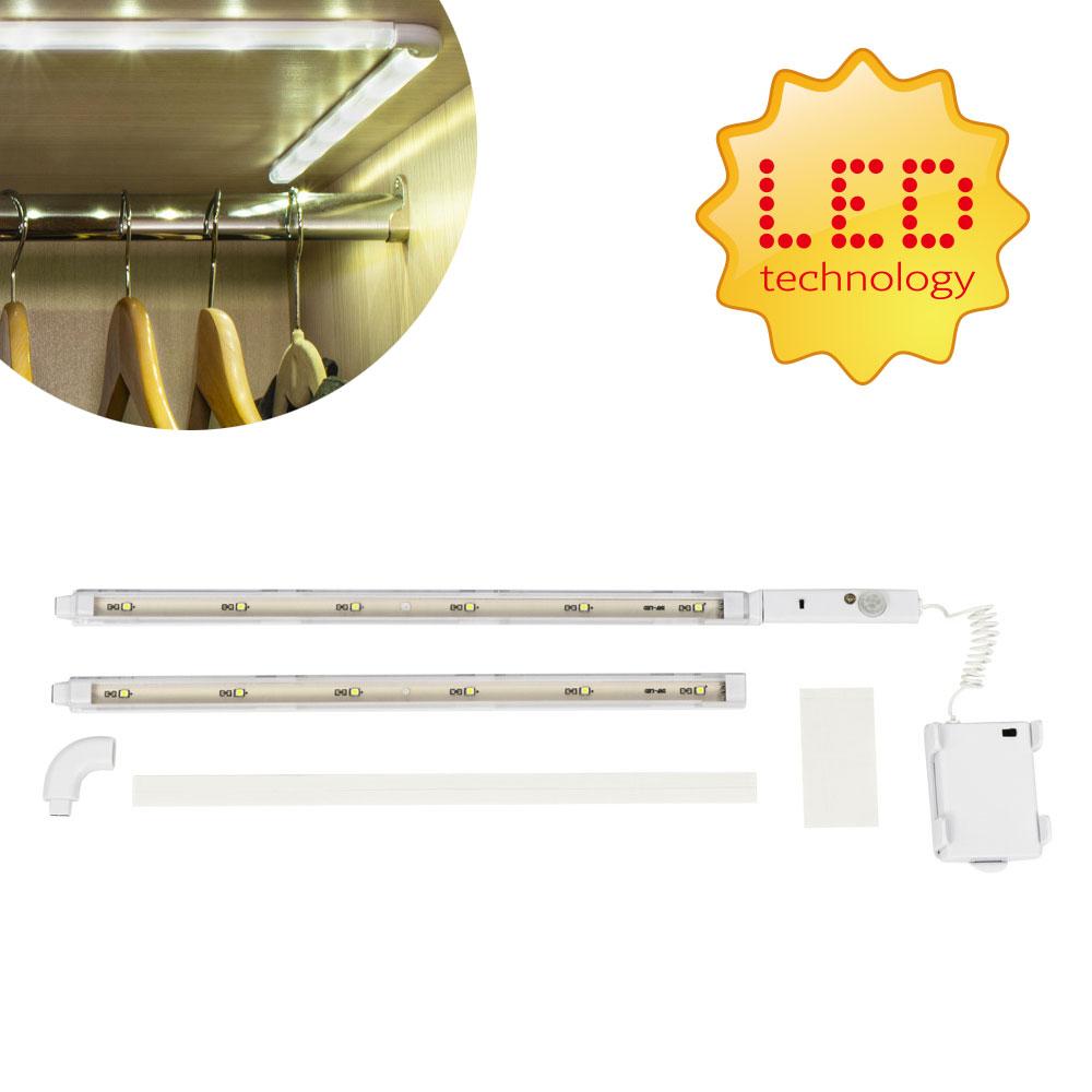 Platinium Bezdrátová LED lišta s detektorem pohybu 60 cm BG-F-00056