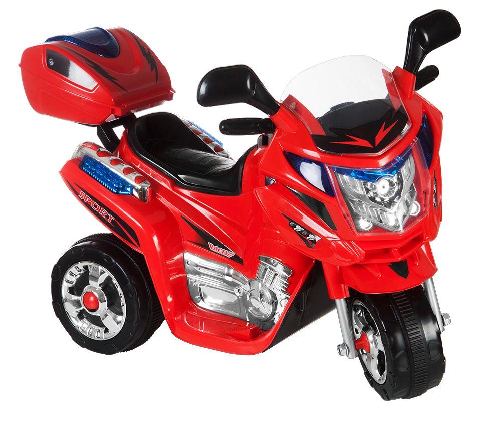 Kids World dětská elektrická motorka Rallye černá