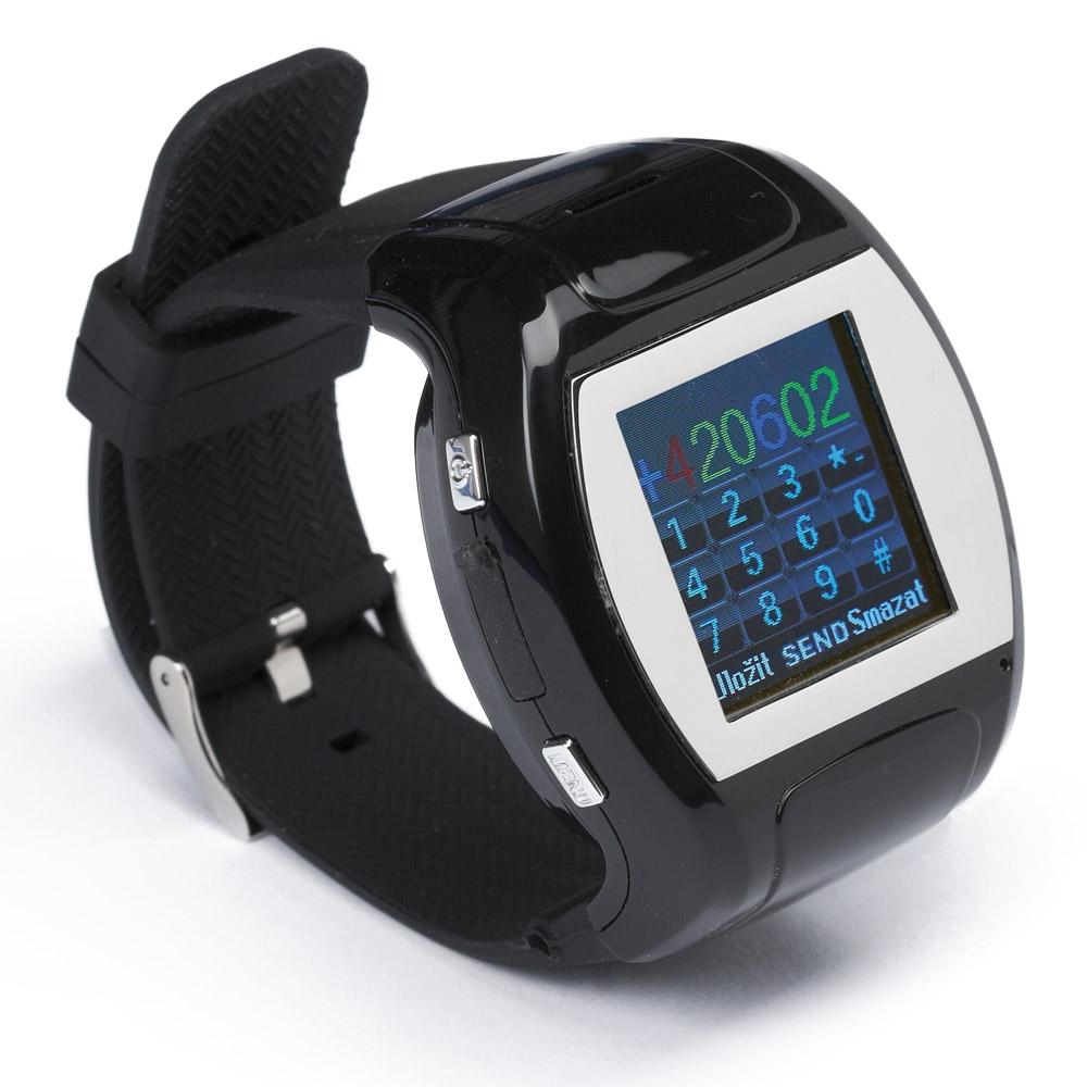 Multifunkční hodinky s funkcí mobilního telefonu 2v1