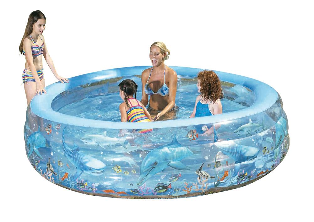 Nafukovací bazény - kruh