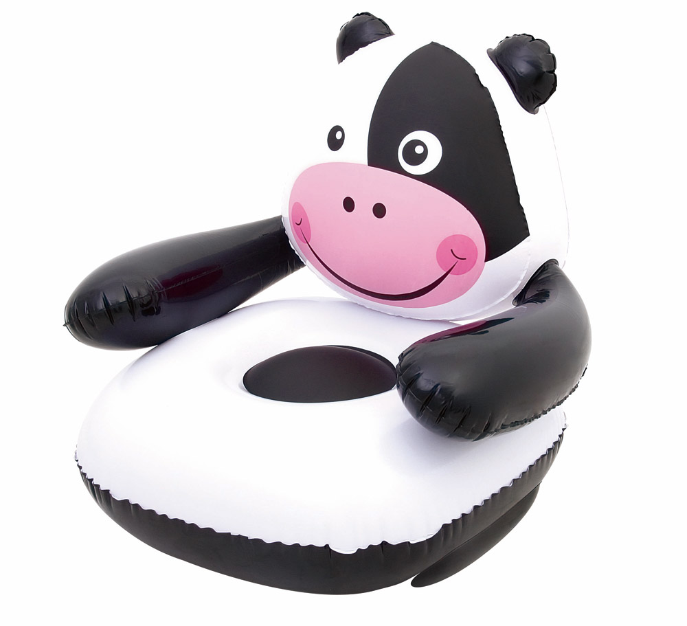 Bestway Nafukovací křeslo dětské motiv kráva