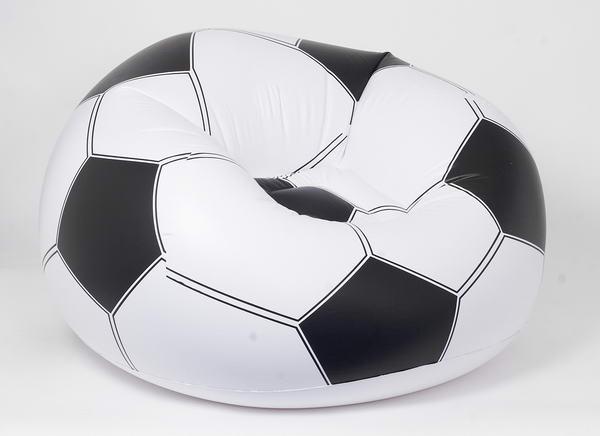 Bestway Nafukovací křeslo F01 fotbalový míč 114 x 112 x 71 cm