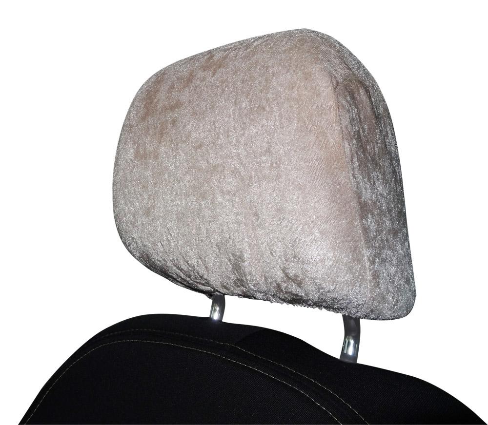 Opěrky hlavy k autopotahům 2 ks