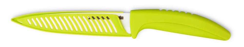 De Gusto Keramický nůž Lime Green chef 12,5 cm