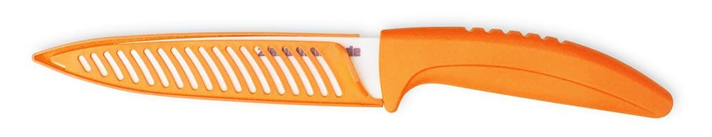 De Gusto Keramický nůž Orange chef 12,5 cm