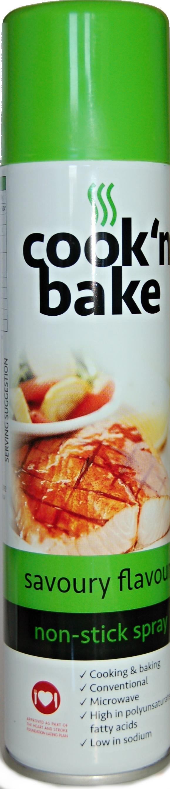 Spanjaard Cook'n bake ochucený slunečnicový olej pikantní 300 ml