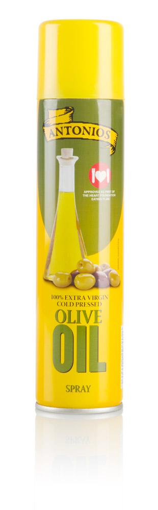 Spanjaard Olivový olej ve spreji Antonios