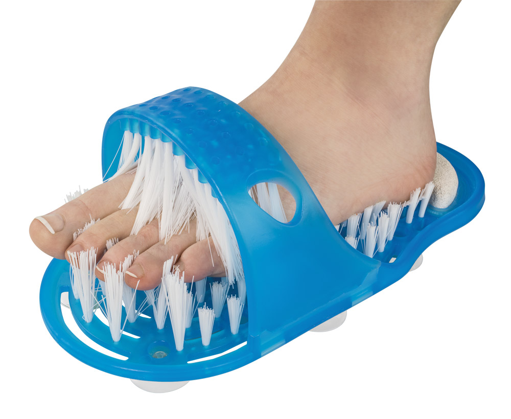HomeLife Kartáč na mytí nohou