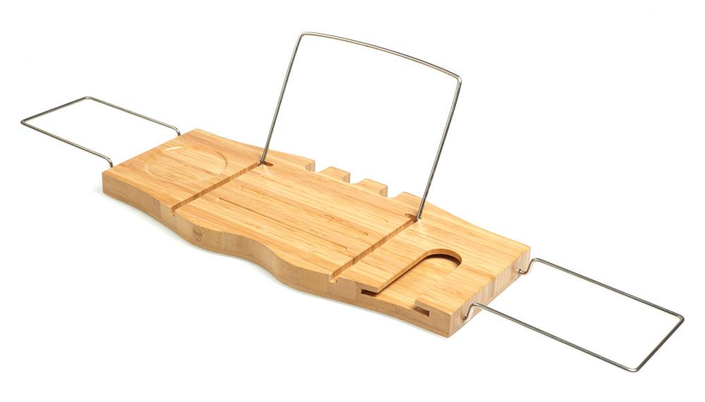 HomeLife Bambusový podnos na vanu