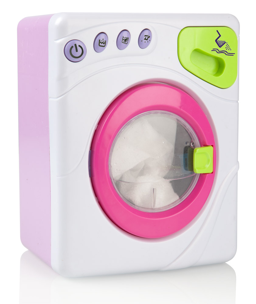 Kids World Dětská automatická pračka - hrací set KS069