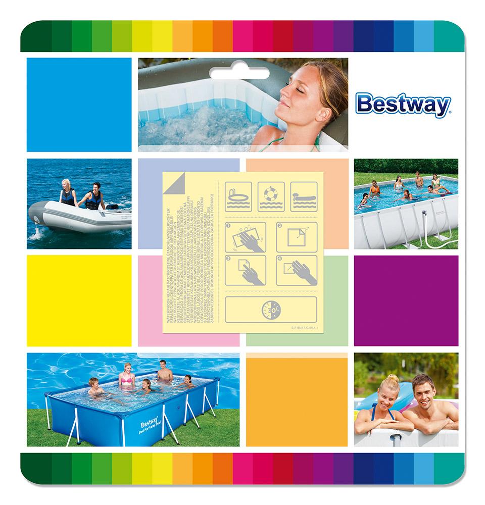 Bestway Bazénová sada voděodolných záplat